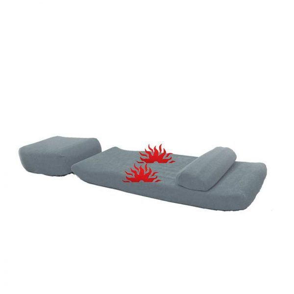 Lower Back Pain Relief Device Non-Invasive Decompression Mat LumbaRest